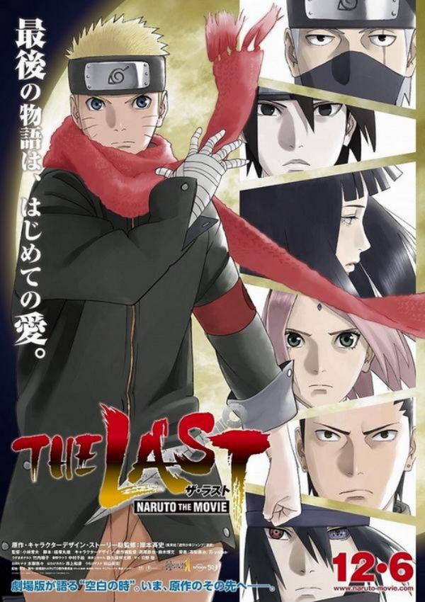 Naruto the Last Movie Poster