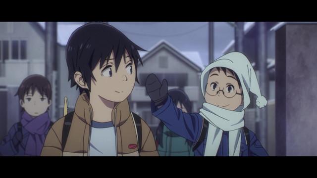Boku dake ga Inai Machi - Episódio #02 - Na Palma da Mão