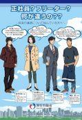 Bokura no Ashita: Freeter no Genjou ni Kansuru Wakamono e no Shuuchi Kouhou Jigyou