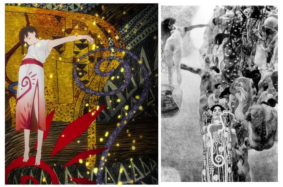 Sora No Woto e Gustav Klimt
